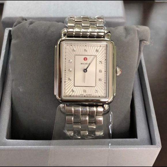 6de33c9540c Michele Accessories | Deco Ii Diamond Watch | Poshmark
